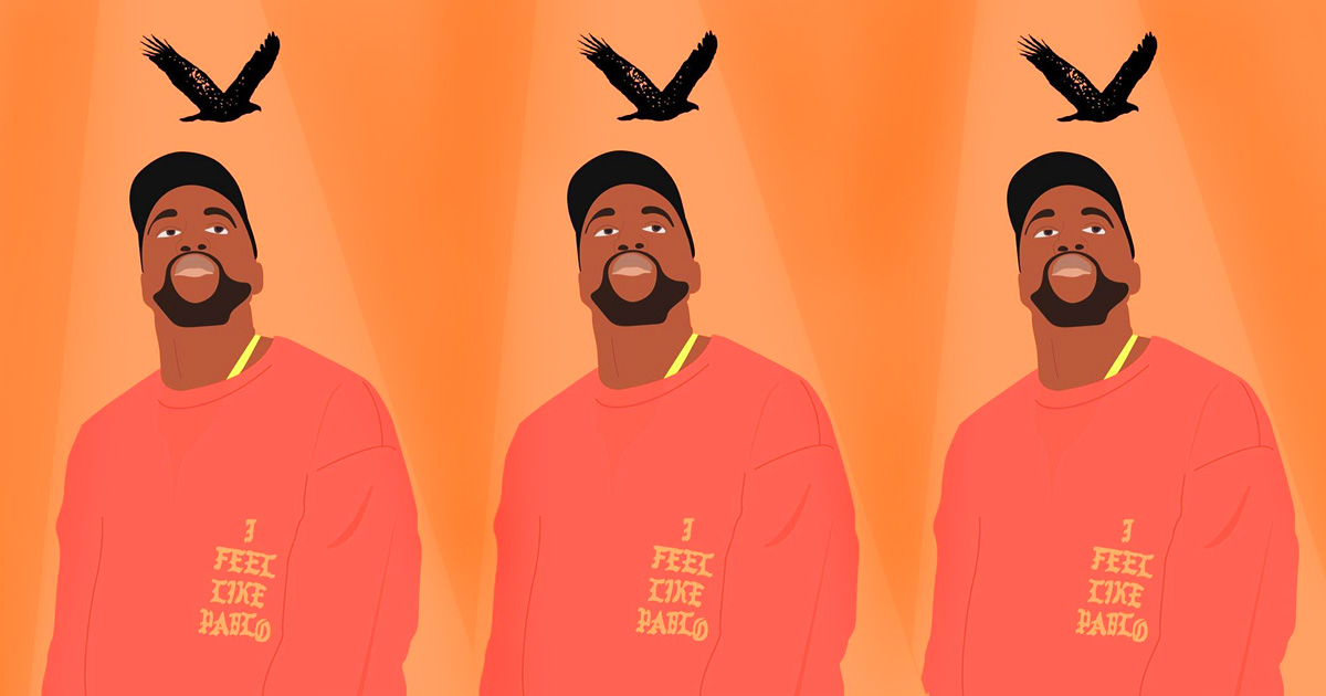 There is a TLOP Kanye Art Exhibit