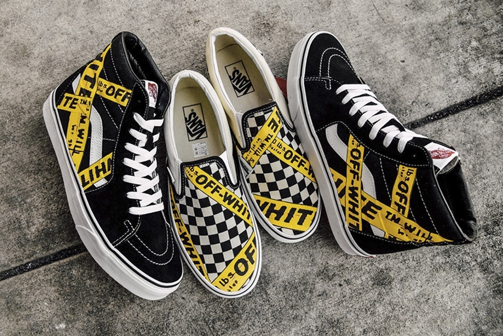 AMAC drops an OFF WHITE x Vans Custom Collection