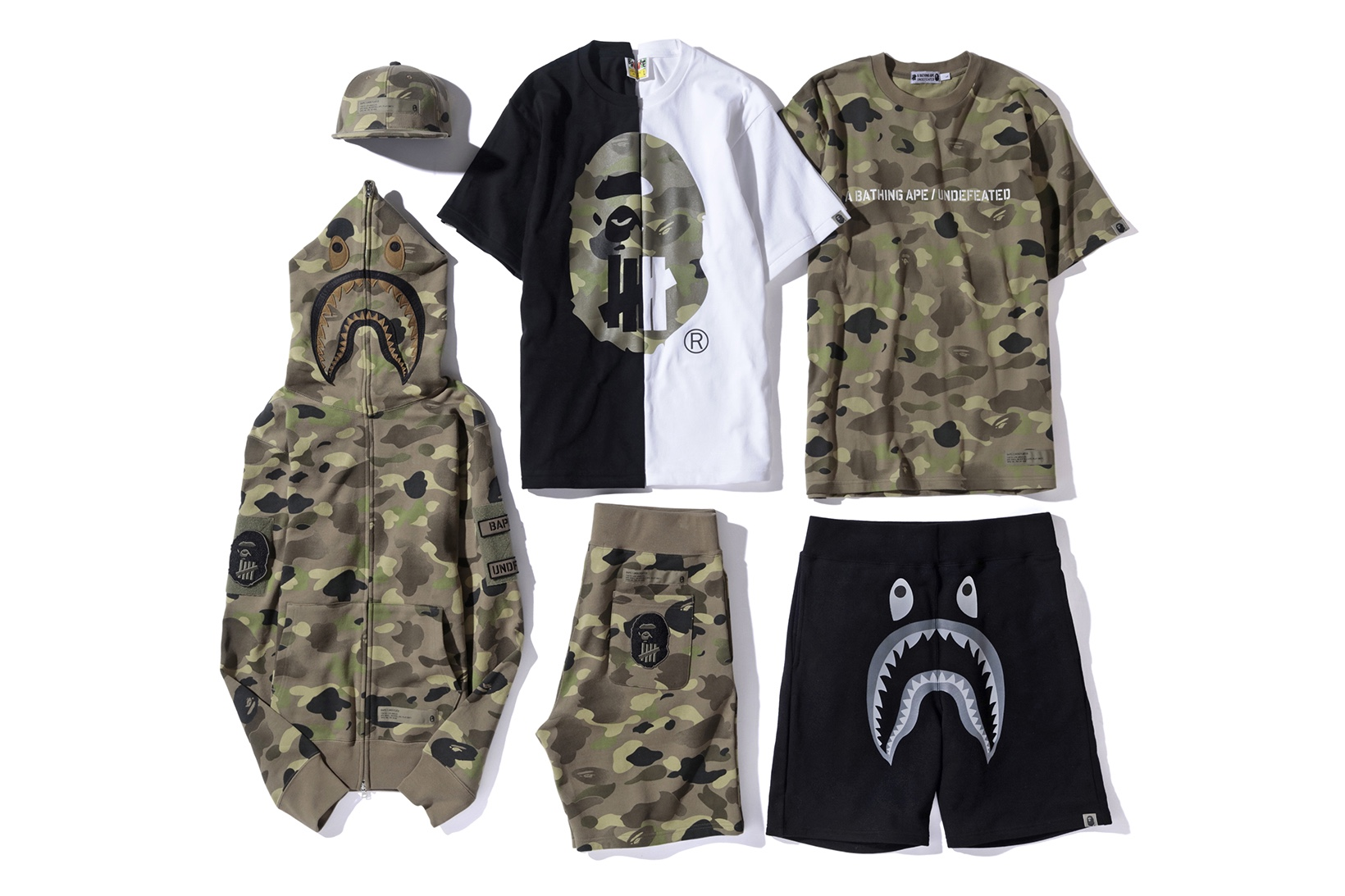 1ee4239a95d UNDEFEATED and BAPE add to the Collaboration Craze